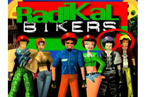 [OST] RADIKAL BIKERS 1998 ★ Track2 - 'I'm The PIZZA MAN ...