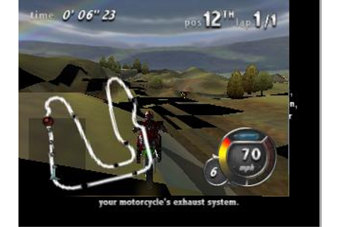 Top Gear Hyper-Bike Nintendo 64 Game