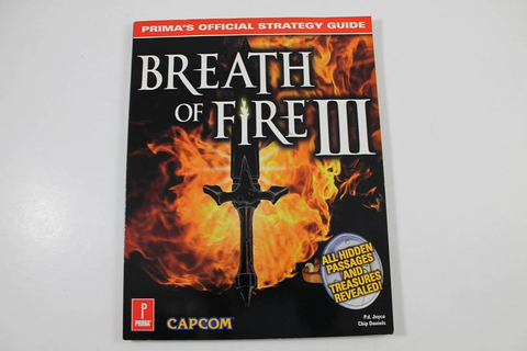 Breath of Fire III Official Strategy Guide - Prima Games