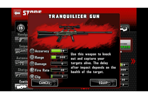 Tranquilizer Gun | Contract Killer Wiki | FANDOM powered ...