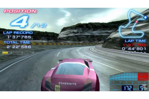Ridge Racer 2 PSP Gameplay HD - YouTube