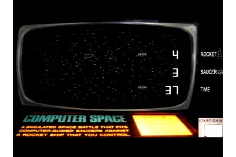 Computer Space (Nutting Associates 1971) - YouTube
