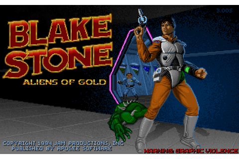 Play Blake Stone: Aliens of Gold online - PlayDOSGames.com