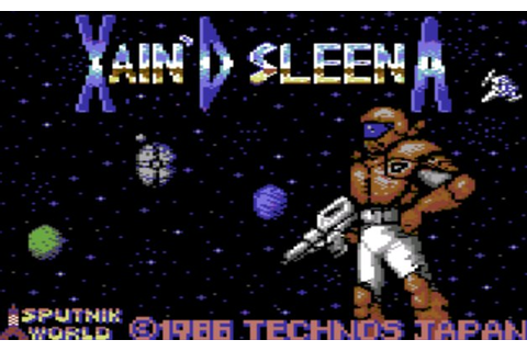 Indie Retro News: Xain'D Sleena - C64 has a new retro remake!