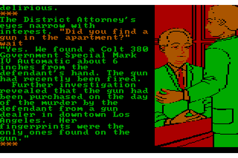 Perry Mason: The Case of the Mandarin Murder (1985 - DOS ...