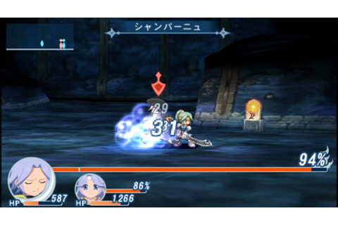 Tales of Phantasia Narikiri Dungeon X PSP Maxwell Boss ...