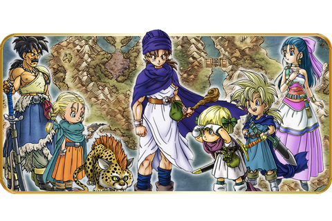 Dragon Quest V - La carte