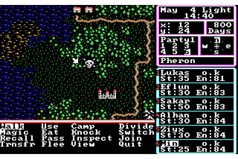 Download The Magic Candle 1 rpg for DOS (1989 ...