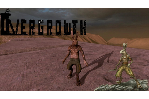 Overgrowth - Bunny Rabbit Gladiator Arena Fight - YouTube