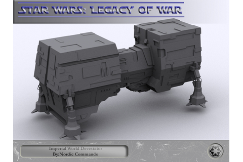 World Devastators image - Star Wars: Legacy of War mod for ...
