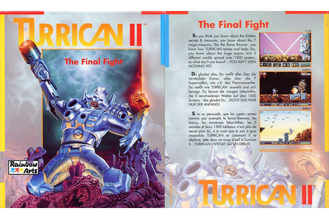 Turrican II: The Final Fight | Top 80's Games