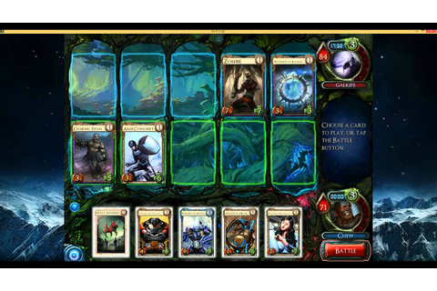 Solforge Draft 5 - Game 1 - YouTube