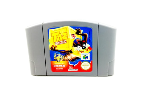 Taz Express N64 Game Unreleased US version N64 Repro