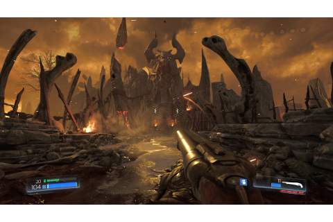 DOOM Gets New Gameplay Video Showcasing Early Game Mission ...
