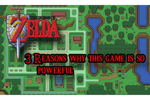 The Legend of Zelda: A Link to the Past (SNES) - 3 Reasons ...