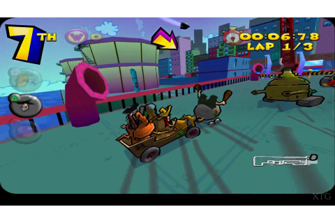 Wacky Races starring Dastardly & Muttley (Europe) PS2 ISO ...