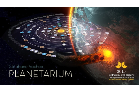 Planetarium Board Game Up On Kickstarter – Tabletop Gaming ...