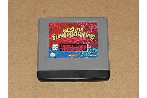 Nester's Funky Bowling w/Cover - Nintendo Virtual Boy ...