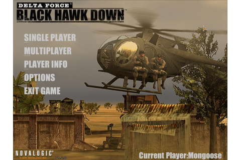 Delta Force 4 Black Hawk Down PC Game Full Version | All ...