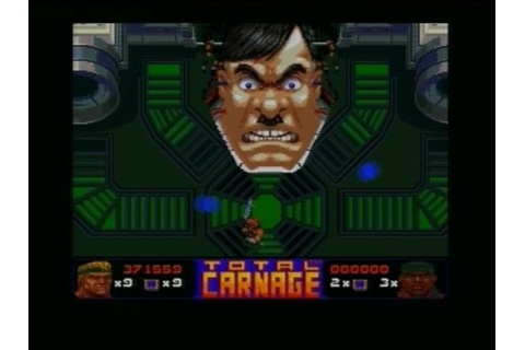 TOTAL CARNAGE (AMIGA - FULL GAME) - YouTube