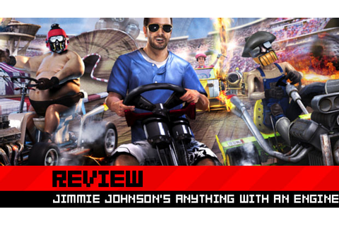 Jimmie Johnson's Anything With an Engine Preview (Xbox ...