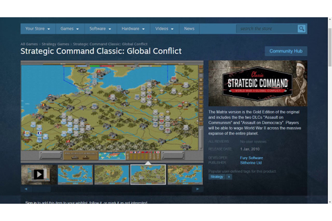 Strategic Command Classic: WW2 Global Conflict is out ...