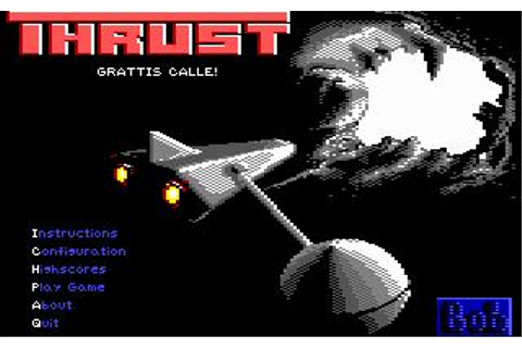 Thrust Download (2001 Arcade action Game)