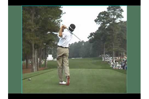 Fred Couples - JC Video Slow Motion Golf Swing - YouTube