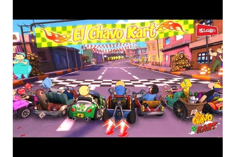 El Chavo Kart Racing Game - GamePlay Trailer - YouTube
