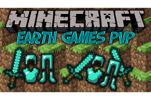 Minecraft: Earth Games PVP - Diamond Suited Up - YouTube