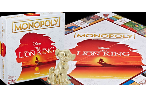 Hasbro will release 'The Lion King' Monopoly with a mini ...