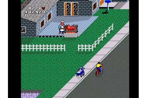 Paperboy 2 (SNES) - Highscore Run #2 - YouTube