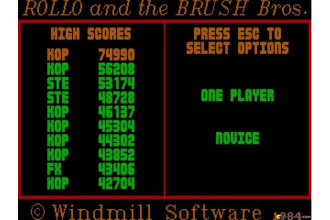 List of games released between 1980 and 1984 - page 3