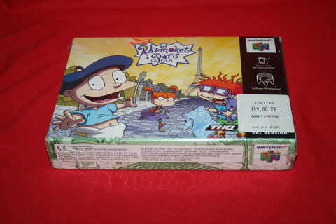 N64 Rugrats The Movie in Parijs Les Razmoket a Paris Le ...