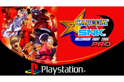 Capcom vs. SNK: Millennium Fight 2000 PRO [PlayStation ...