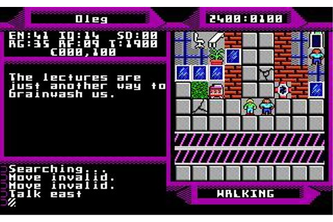 2400 A.D. Download (1988 Role playing Game)