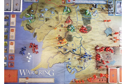 War of the Ring (Second Edition) – Fuzzy Llama Reviews