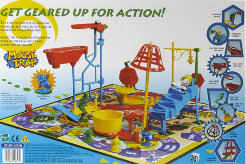 mouse trap | boardgames | Mouse traps, Board Games, Games