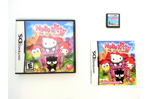 Hello Kitty Big City Dreams game for Nintendo DS (Complete ...