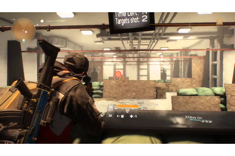 Shooting Range Mini-Game - The Division - YouTube