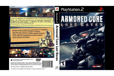 PS2 Armored Core - Last Raven (HD) (PCSX2) (50 fps) - YouTube