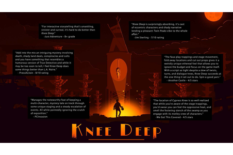 Knee Deep for Linux (2015) Ad Blurbs - MobyGames