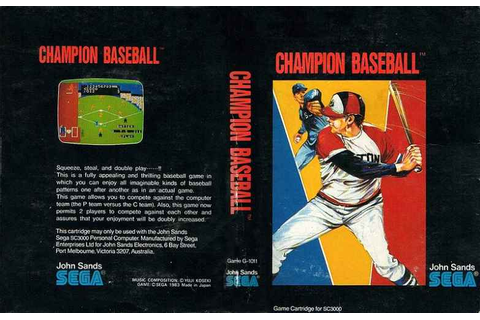 Champion Baseball | Top 80's Games