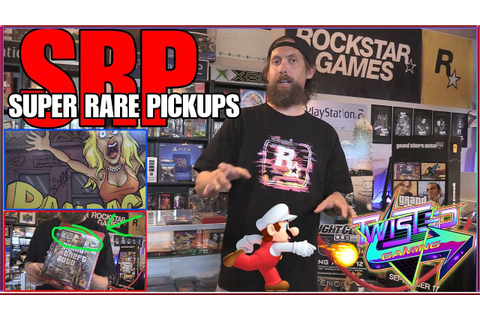 Super Rare Video Game Pickups - YouTube