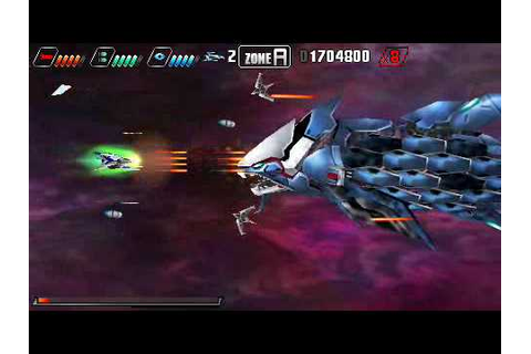 Darius Burst psp - YouTube