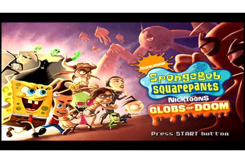 SpongeBob SquarePants featuring Nicktoons: Globs of Doom ...