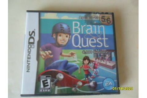 Brain Quest: Grades 5 & 6 (Nintendo DS, 2008) | eBay