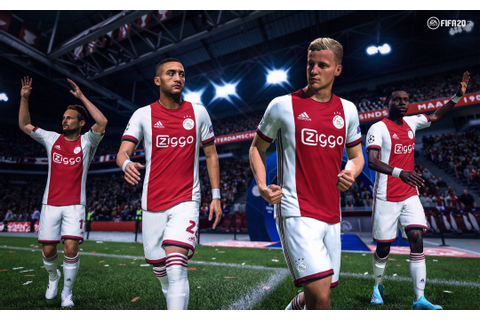 FIFA 20: Ajax and EA Sports introduce official headscans ...