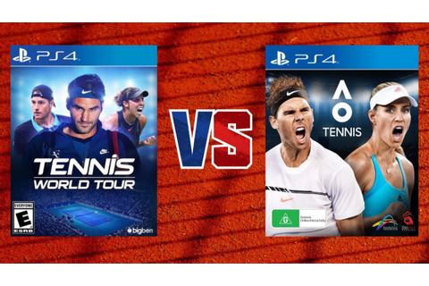Tennis World Tour vs. AO International Tennis - Which one ...