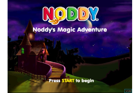 Noddy's Magic Adventure for Sony Playstation - The Video ...